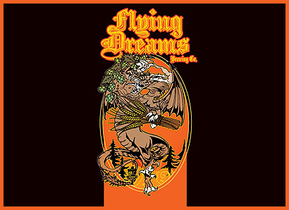Double IPA Series Logo Flying Dreams